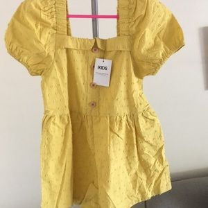 Cotton On yellow romper